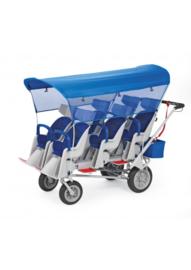 Angeles 6-Passenger Stroller
