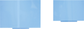 No-frame bord blauw 75x115