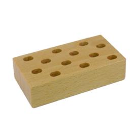 Scharenblok hout voor 12 scharen