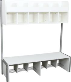 Quadro - garderobe 6, wit