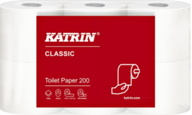 144rollen Toiletpapier Katrin 77152 Classic 200 2laags
