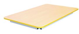 Premium tafelblad geel