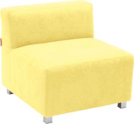 Flexi bank, zithoogte 35 cm,  geel