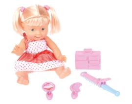Basia, pop in een schoonheidssalon