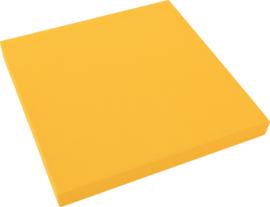 Geluiddempend vierkant PLUS, mosterd