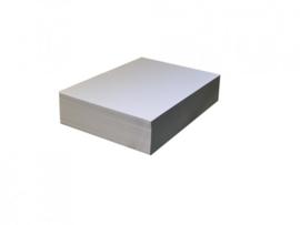 Tekenpapier wit - offsetkwaliteit | 120 grams, pak à 500 vel | 50 x 65 cm