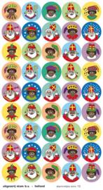 Stickers Sint en piet - serie 13