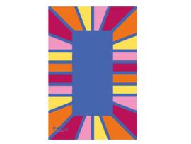 Speelmat rechthoek 200x300cm - Pastel