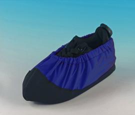Schoenhoezen CATS blauw maat 25/30 per paar.