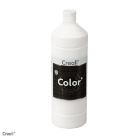 Creall-color schoolverf 1000cc wit