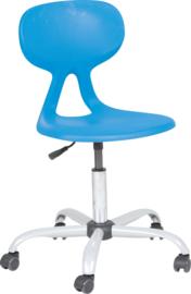 Livia stoel, draaibaar, met verstelbare hoogte, op wielen, 6 kleuren
