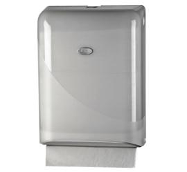 Dispenser Euro Pearl vouwhanddoeken Z-vouw wit