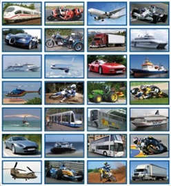 Stickers vervoer - serie 31