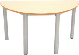 Premium halfronde tafelblad - oranje