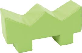 Zachte speelvloer - licht-groen gras