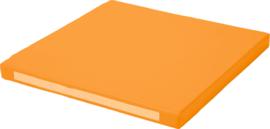 Vierkant zitje - oranje