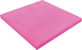 Geluiddempend vierkant - kauwgom, 40 mm