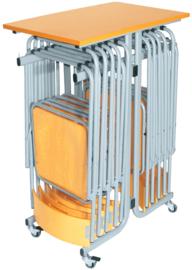 Standaard voor stoelen Tipi zilver