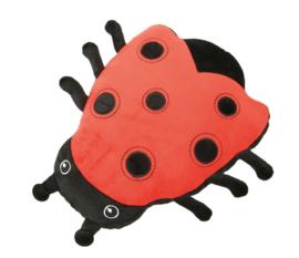 Kussen FLAT - lieveheersbeestje