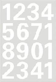 Etiket Herma 4170 25mm getallen 0-9 wit