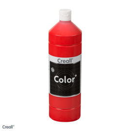 Creall-color schoolverf 1000cc light rood