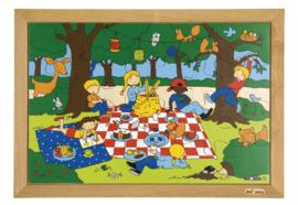Puzzel picknick 24 dlg.