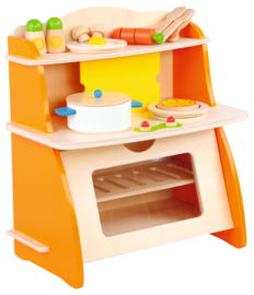 Mini keuken - Oranje