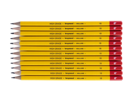 12 potloden Bruynzeel 1B