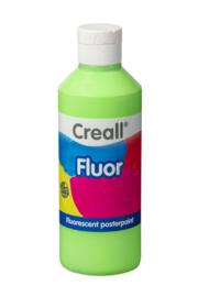 Plakkaatverf Creall fluor 250 ml - Groen