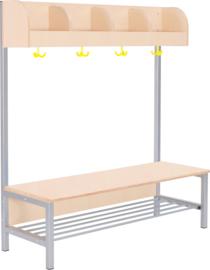 Flexi garderobe  4, zithoogte 26 cm - esdoorn