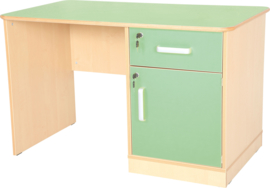 Flexi bureau de luxe - groen