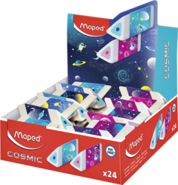 24x Gum Maped Cosmic 3-kantig display  assorti