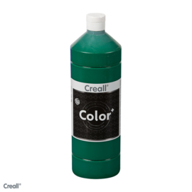Creall-color schoolverf 1000cc donkergroen