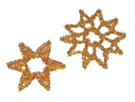 Chenilledraad  goud of zilver