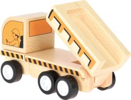 Mini houten dumper