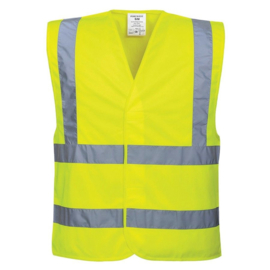 Veiligheidsvest Portwest C470 fluor geel S / M