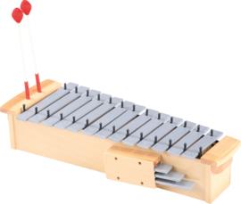Metalen xylofoon