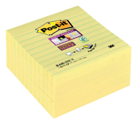 Memoblok 3M Post-it Z-Notes 101 x 101 mm. lijnen