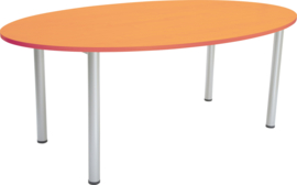 Ovale tafel els 120 x 200 cm