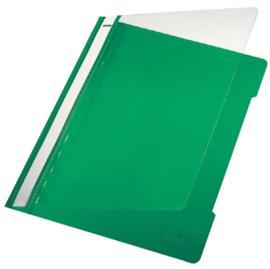 10x Snelhechter Leitz 4191 A4 PVC groen
