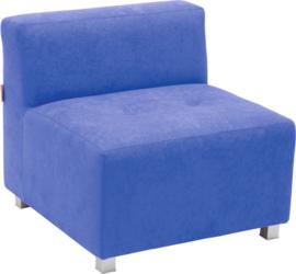 Flexi bank, zithoogte 35 cm,  blauw