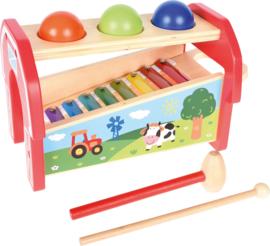 Xylofoon met ballen