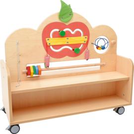 Flexi kast met activiteiten paneel appel set 90