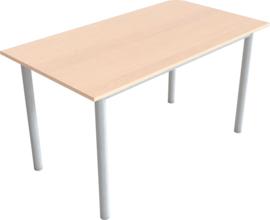 Linker tafel in een beuken kleur