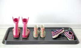 Kunststof schoenenmat - groot