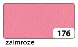 Crepepapier  250x50cm nr176 zalmroze