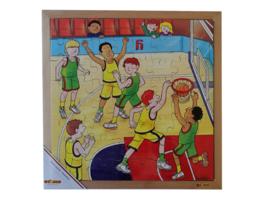 Puzzel basketbal