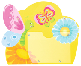 informatiebord - Vlinder