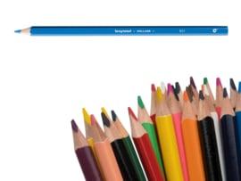 12 kleurpotloden Bruynzeel l.blauw 951