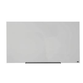 Glasbord Nobo Diamond 126x71,1cm wit